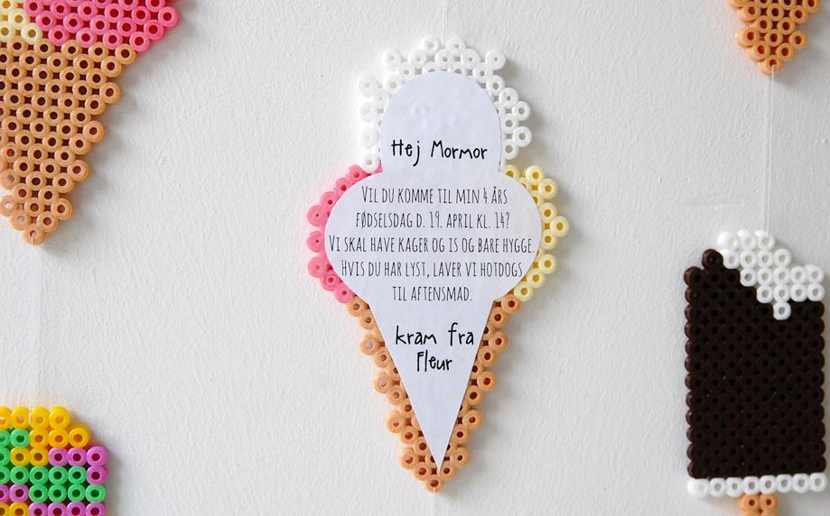 ideer til 12 års pigefødselsdag Invitation til 4 års fødselsdag – DIY   det bedste jeg ved  ideer til 12 års pigefødselsdag