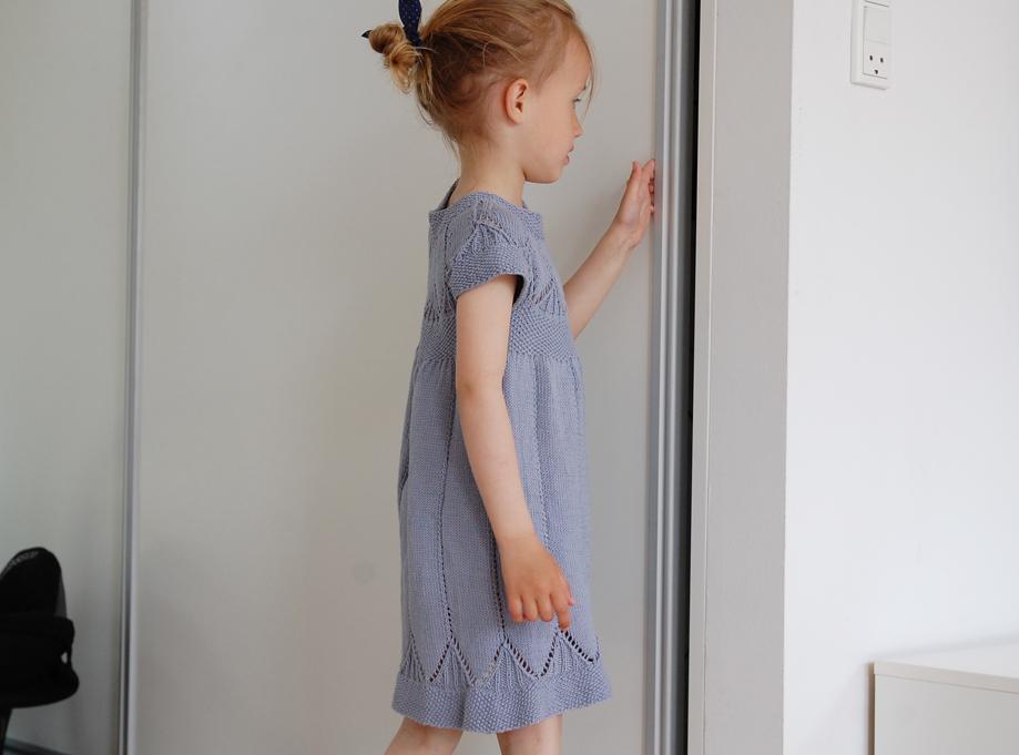 strikket-kjole-