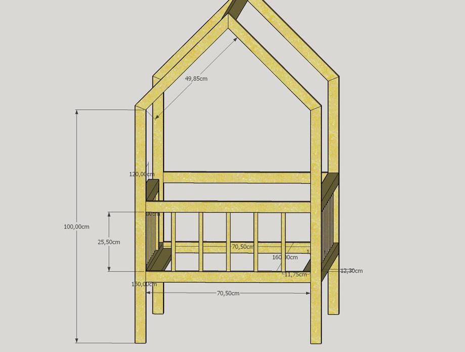 hus seng DIY: hjemmelavet hus seng // en guide med mål   det bedste jeg ved  hus seng