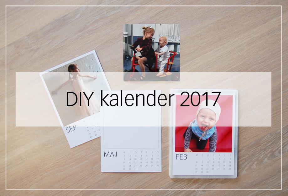 DIY kalender 2017
